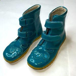 Livie & Luca Girls 2 Teal Blue Boots CUTE